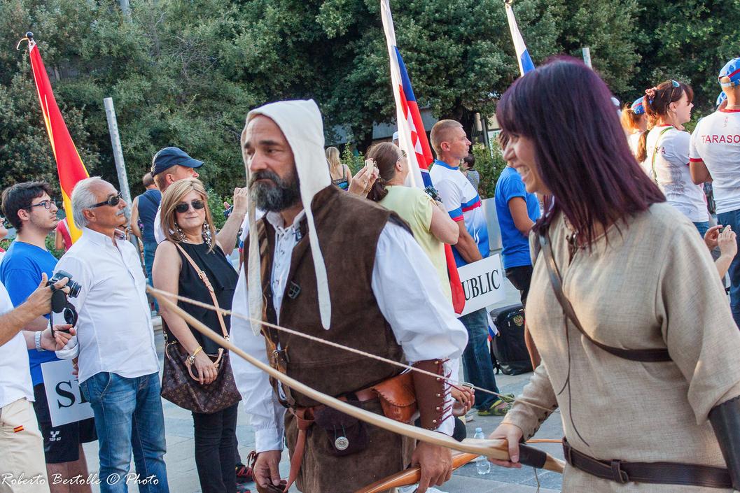 erni 3D World Archery Championships 2015 arcieri storici romani